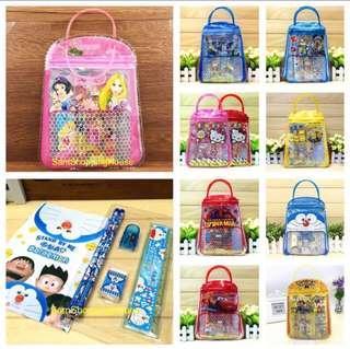 Goodie bag / stationery set / handle set / Christmas