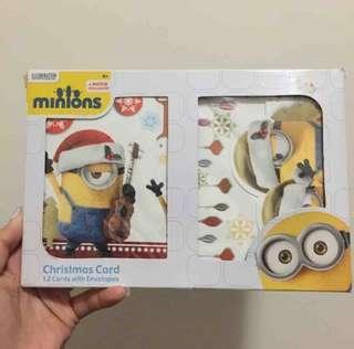 minions 聖誕卡 Christmas card