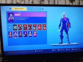 Fortnite Trading account for a decent account has galaxy skin btw.not asking for too much. Also has 480 vbucks