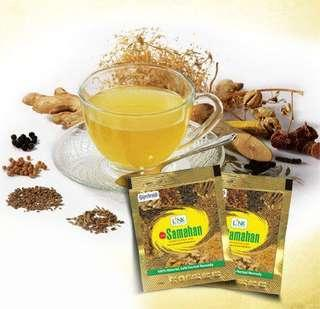 Samahan Tea for cold/fly/cough prevention