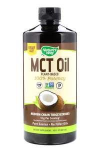 椰子中鏈脂肪酸甘油三酯,30液量盎司(887毫升)