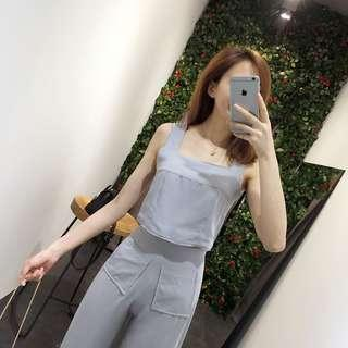 Set Top + Pant (GREY)