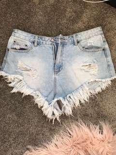 Ripped shorts Glassons