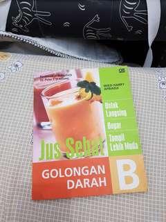 Buku jus golongan darah B