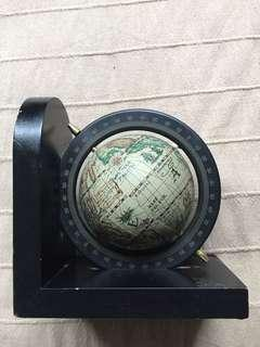 Woodend globe bookend