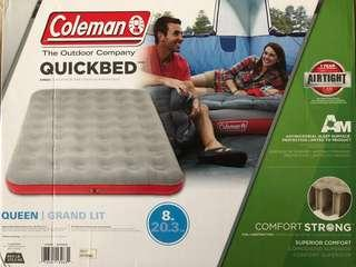 Coleman Quickbed Air bed Queen Size