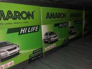 2018 year end biggest Amaron car battery promotion!