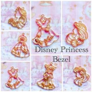 Disney Princess Gold Bezels