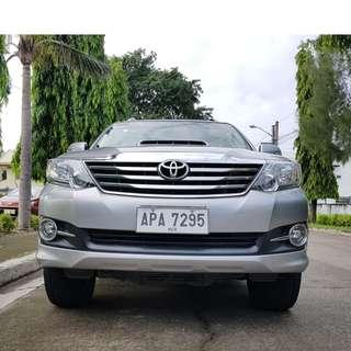 Toyota Fortuner 2015 G Automatic Diesel