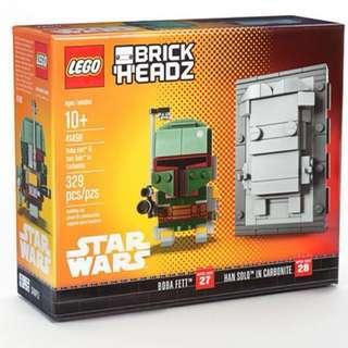 Lego 41498 NYCC Exclusive Boba Fett & Han Solo in Carbonite