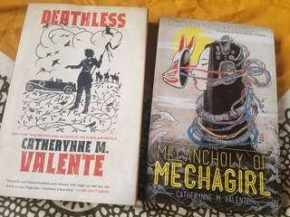 Deathless, The Melancholy of Mechagirl by Catherynne M. Valente