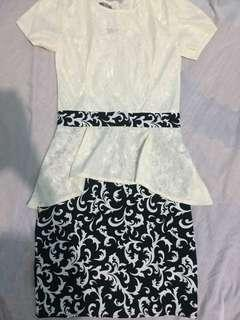 Korean Peplum Dress
