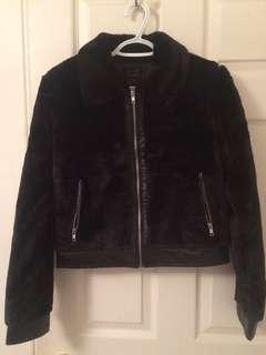 BNWT faux fur jacket