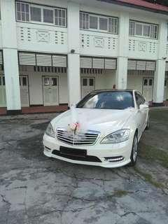 Mercedes Benz S Class Rental (with driver)