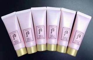 🎀Whoo後👑 水妍洗面奶 40ml。 呢個超級補水的洗面奶~對於春秋黃沙霧霾造成的皮膚污染,也可以洗得好乾淨!