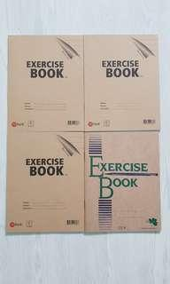 New Exercise Books (Broad line & big squares)