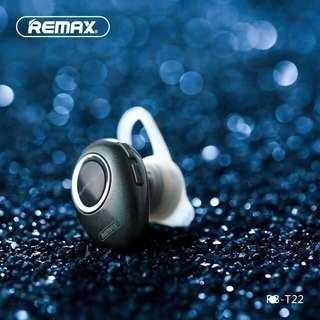 🚚 REMAX T22 Wireless Single Headset Earphone with Mic