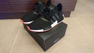 🚚 Adidas NMD Black White Red