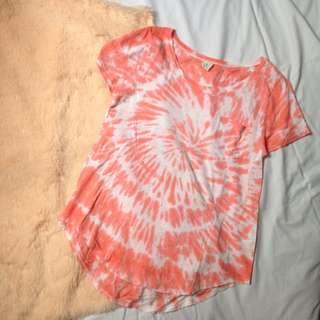 Hollister tie-dye shirt