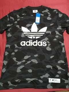 Bape Adidas  T-shirt XL