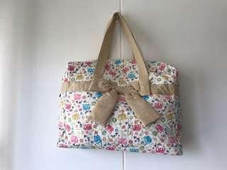 Naraya Tote Bag with Elephant Design