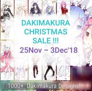 Dakimakura Christmas Sale
