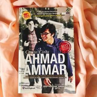 Cerita Cinta Ahmad Ammar disusun oleh Grup Penjejak Tamadun Dunia (NP: RM 23)