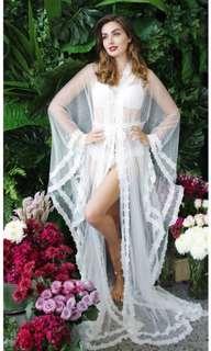 Authentic Amanda Braden Eleonora bridal robe