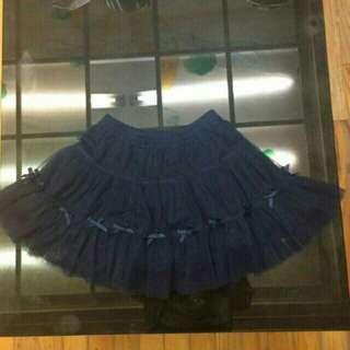 🚚 麗嬰房寶藍色女童氣質美裙