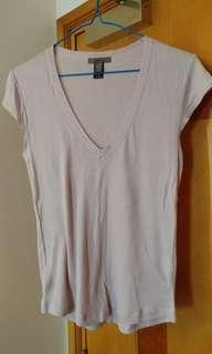 Dirty pink woman stretch top