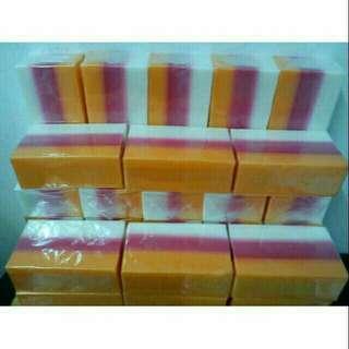 Sabun Gluta Kojic 3 layer 130g tebal