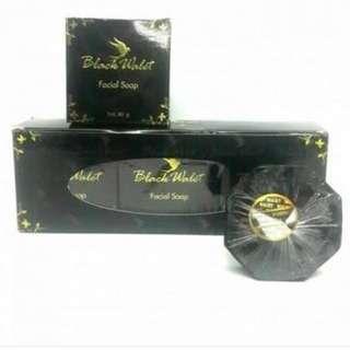 Black walet facial soap