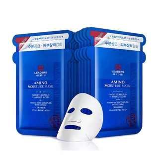 Korea Leaders Mask - Amino Acid 25ml x 10 pcs