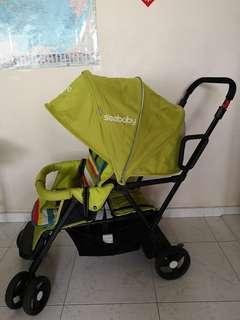 Seebaby Double Stroller