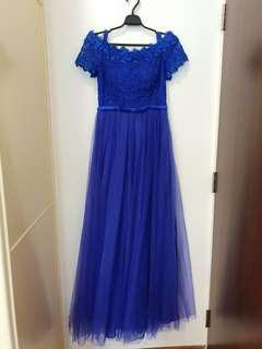 Mother of the bride evening gown