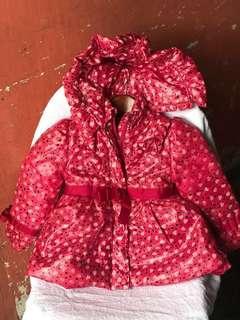 Winter jacket for baby n kids