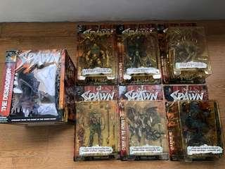 Curse of the spawn series 13. One set