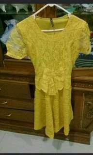 Yellow Fire Dress