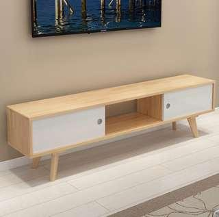 New 1.6 m nordic wooden tv console with stand table