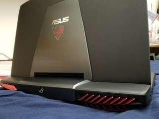 電競 17吋 i7 16Gb 128SSD +1Tb Hdd GTX980 desktop replacement Asus ROG