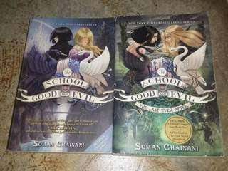 The School For Good and Evil #1 and #3