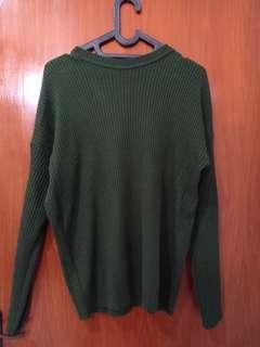 Sweater Rajut Army
