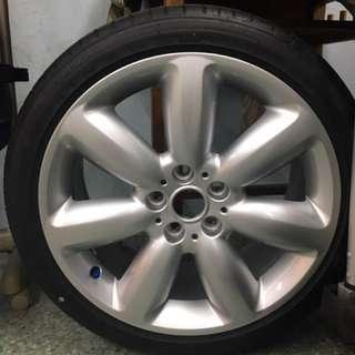 Mini F54(Clubman S)輪框+胎