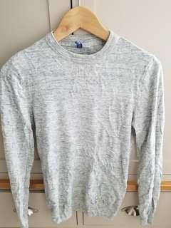 H&M ladies jumper grey size  SX 90% new