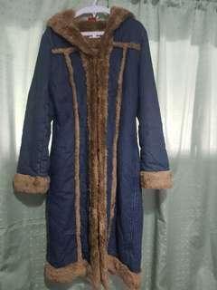 winter fur coat... very good quality