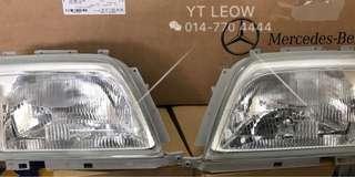 R129 headlights