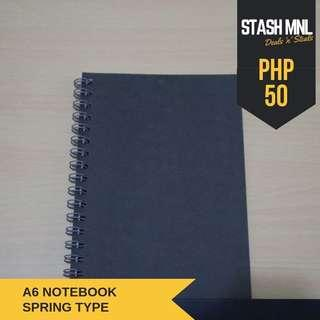 A6 Notebook Spring Type