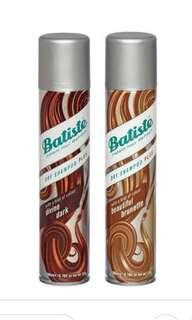 Brand New Dark/Brown dry shampoo by Batiste