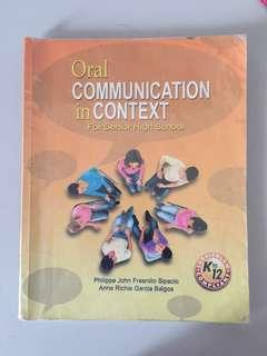 SHS Book Oral Communication in Context