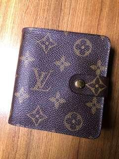 Authentic Louis Vuitton Monogram French Purse Wallet